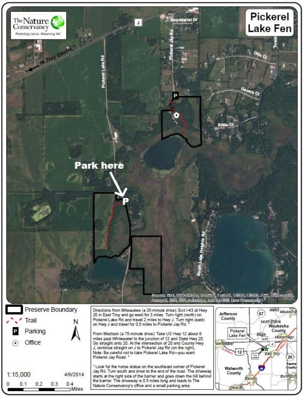 Pickerel Lake Fen Preserve